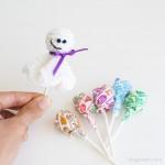 Lollipop Ghost Crochet Pattern