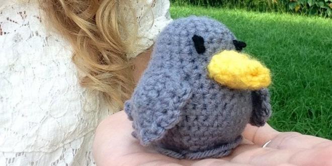 Amigurumi Sparrow Free Pattern #knitting | Crochet bird patterns ... | 330x660
