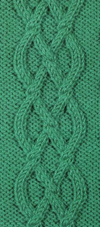 Knitting Chart Cable 1
