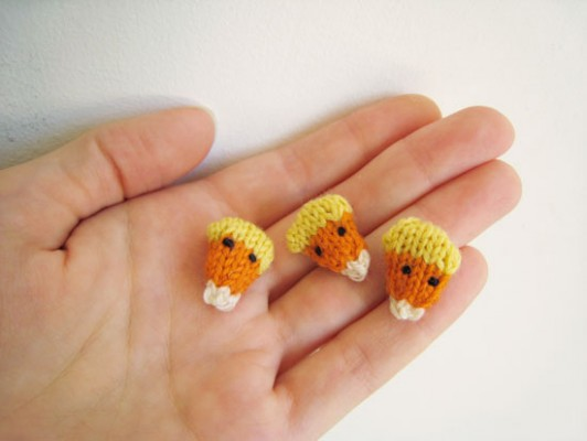 candy corn knitting pattern