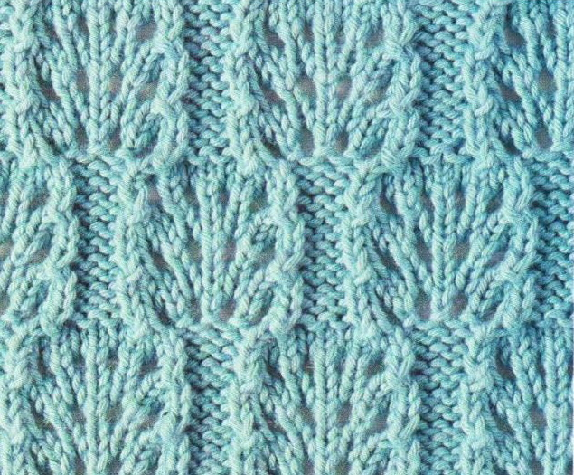 chart knitting lace