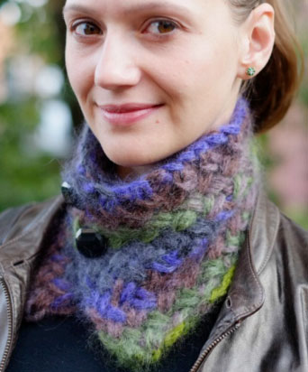 Chunky Wickery Cowl free pattern:Free pattern here: link
