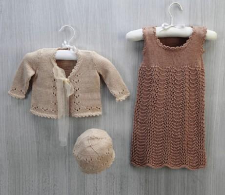 cotton-hat-dress-and-cardigan-knitting-pattern