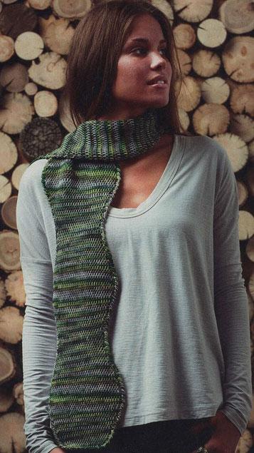 Wavy Crochet Scarf Pattern
