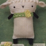 Lamb Crochet Toy