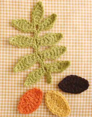 crochet-leaves