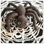 Halloween Spider and Web Crochet Pattern