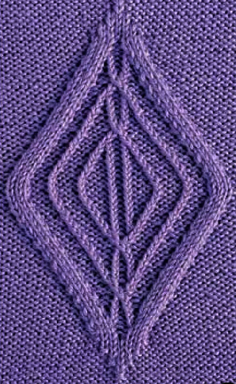 Diamond Cable Knitting - Chart Only
