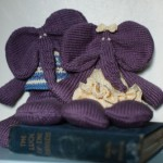 Knitted Elephant Toys