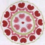 Crochet Heart Mandala