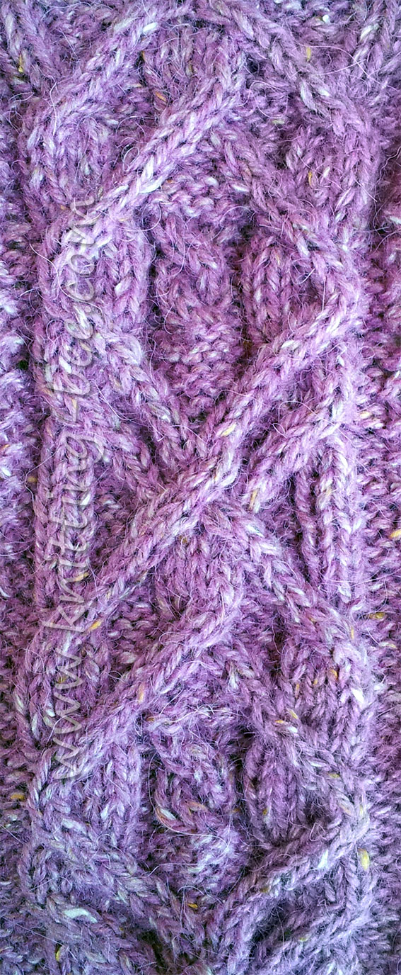 Interesting Cable Panel Knitting Pattern
