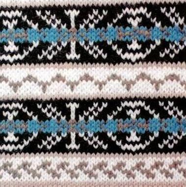 Fair Isle Knitting Pattern 1