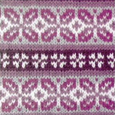 Fair Isle Knitting Pattern ⋆ Knitting Bee