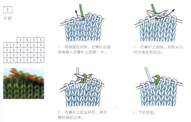 japanese knit symbol