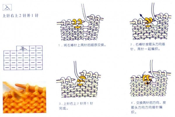 japanese knitting symbols 3