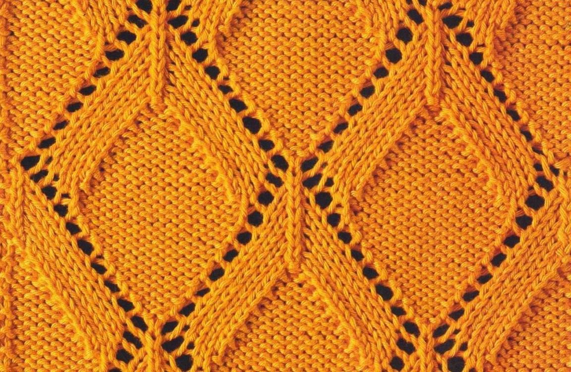 Diamond Knitting Pattern : Diamond Patterns Knitting images