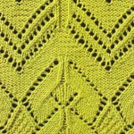 Knitted Lace with Pretty Edge