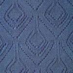 Lace Diamond Shape Knit Stitch
