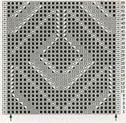 lace-diamond-shape-motif-knitting-stitch-chart