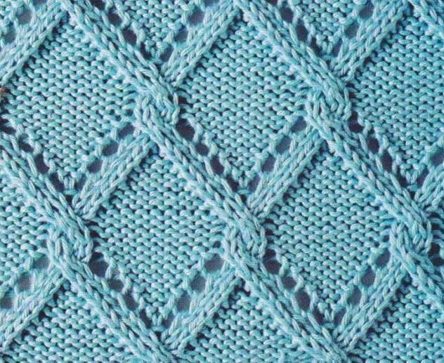 lace triangle treallis