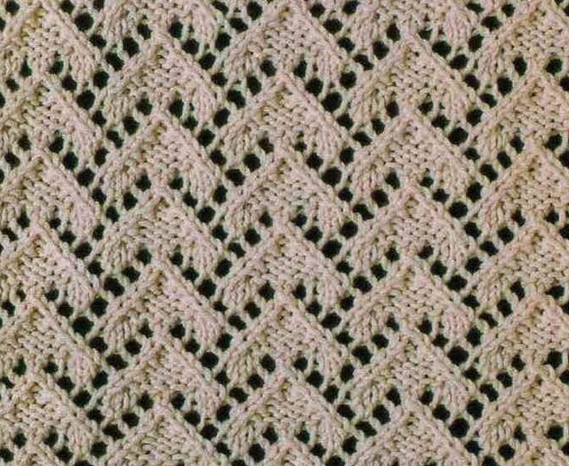 Lace Knitting Chart Symbols : Lace triangles knit stitch ⋆ knitting bee