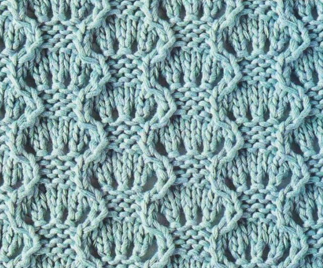 Lace Eyelets and Waves