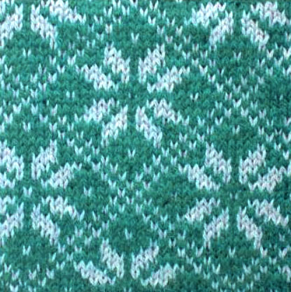 Nordic Star Knit Pattern