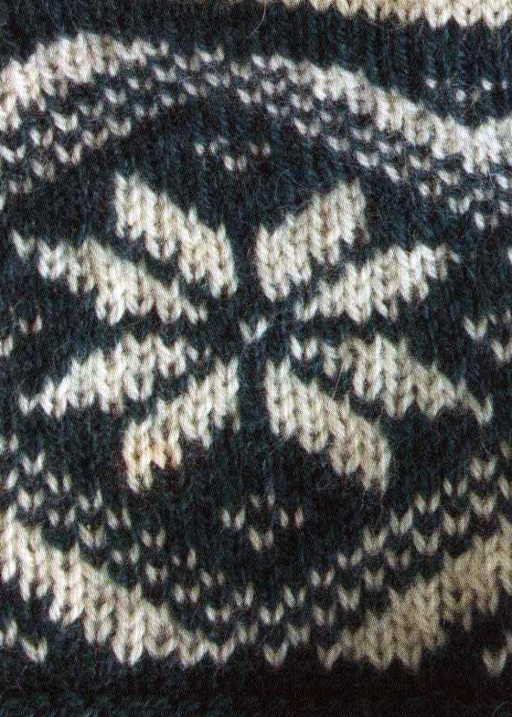 Nordic Star Color Knitting Pattern
