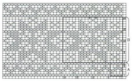 orange-nordic-star-knitting-chart