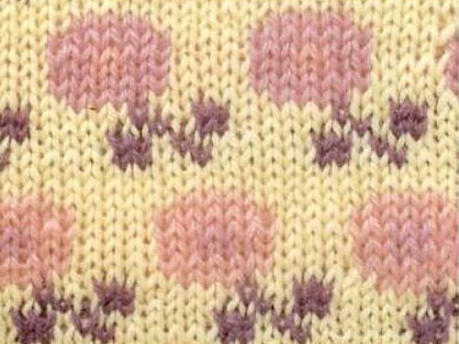 pink-purple-flowers-knitting-chart