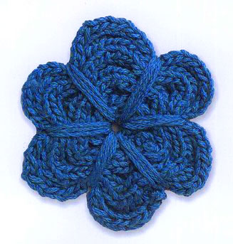 A Flower Knit