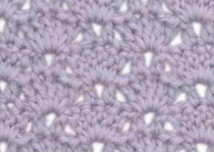 Shell and V Stitch Crochet Stitch