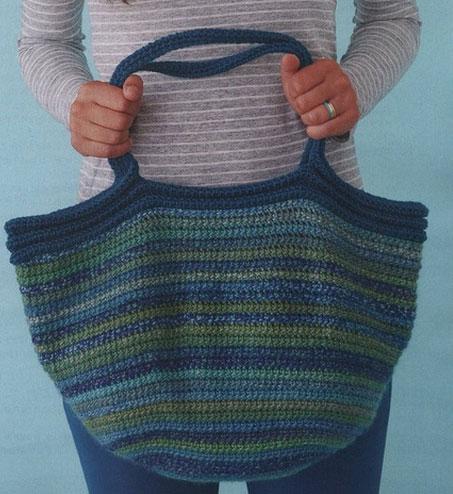 Big Crochet Tote