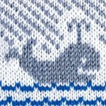 Whale Colorwork Knitting Pattern