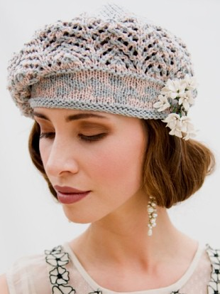 Albero Odette Beret Knitting Pattern Knitting Bee