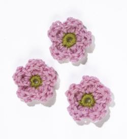 Apple Blossom crochet flower