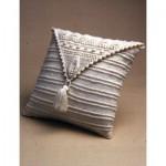 Aran Leaf Pillow Free Knitting Pattern
