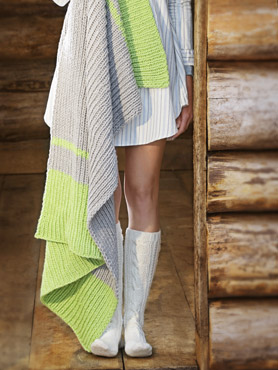 Cabin Fever Blanket - Knit
