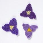 Crochet Flower -Tradescantia