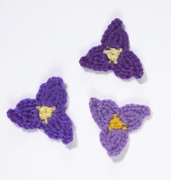 Crochet Flower freeTradescantia