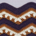 Crochet Wave/Ripple Pattern Stitch