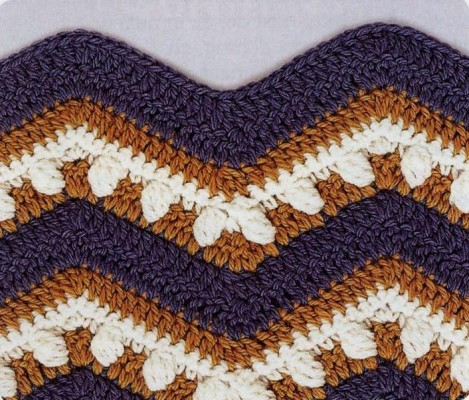 Crochet Wave Pattern Stitch