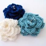 Crocodile Stitch Flower Crochet Pattern