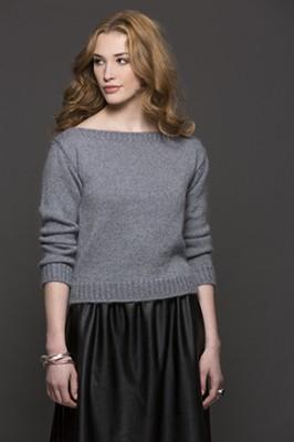 Debora Pullover pattern knit