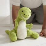 Free Dinosaur Toy Knitting Pattern
