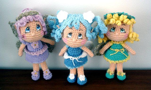 Fairy Dolls Crochet Amigurumi