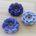 Flower Accent to Crochet