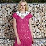 Free lace dress knitting pattern
