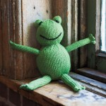 Froggy Knitted Toy