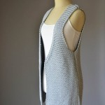 Hi Lo Vest - Knitted Pattern